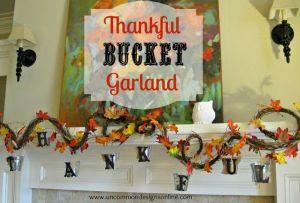 Thankful bucket list